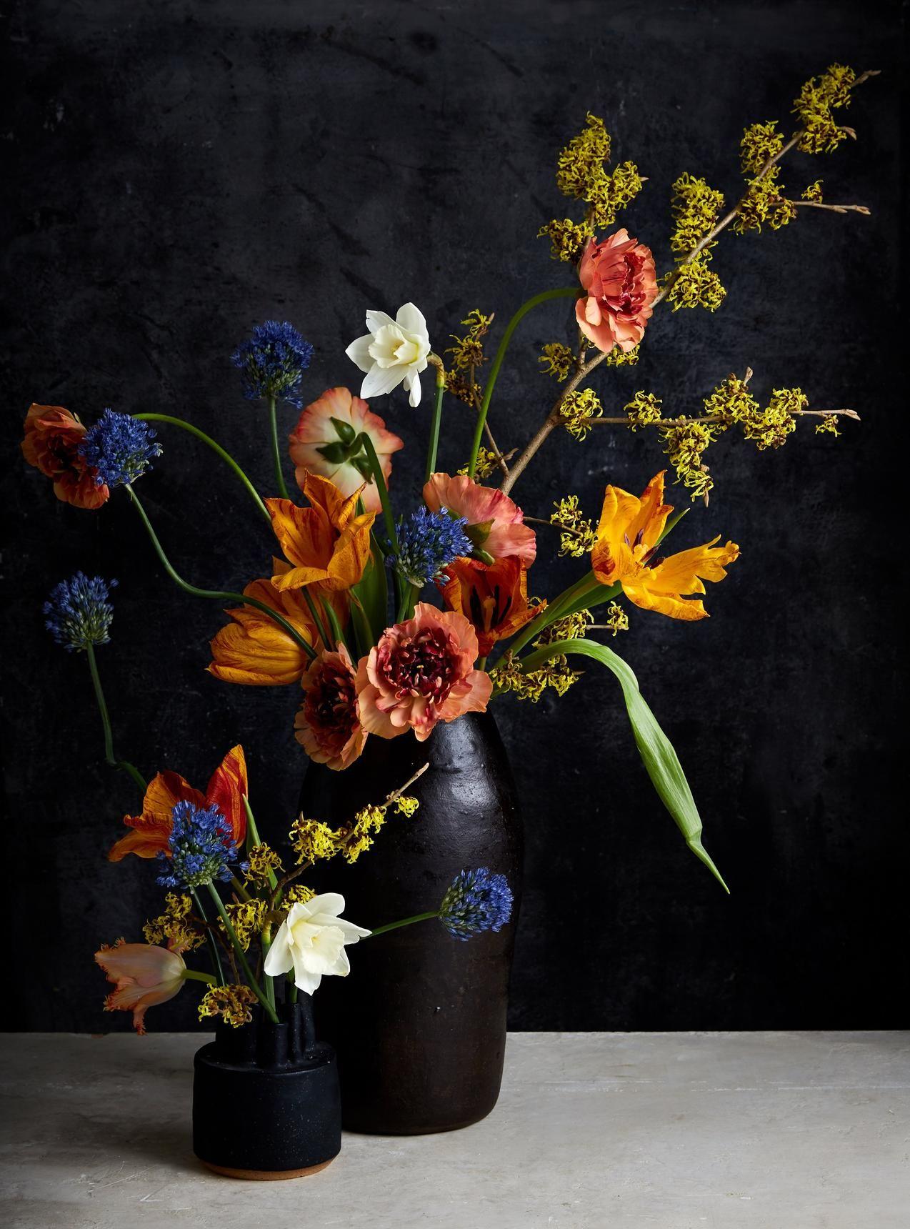 title='受 Jasper Johns 启发的插花'